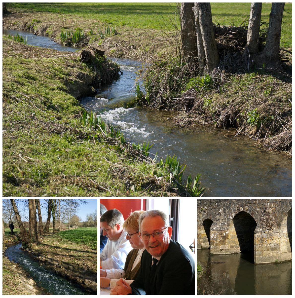 Aménagement d'une rivière de contournement - Moulin de Mauves sur Huisne